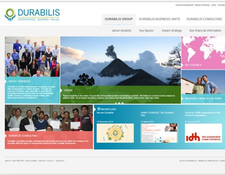 Durabilis Corporate website